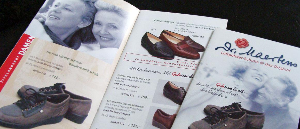 Schuhkatalog Dr. Maertens