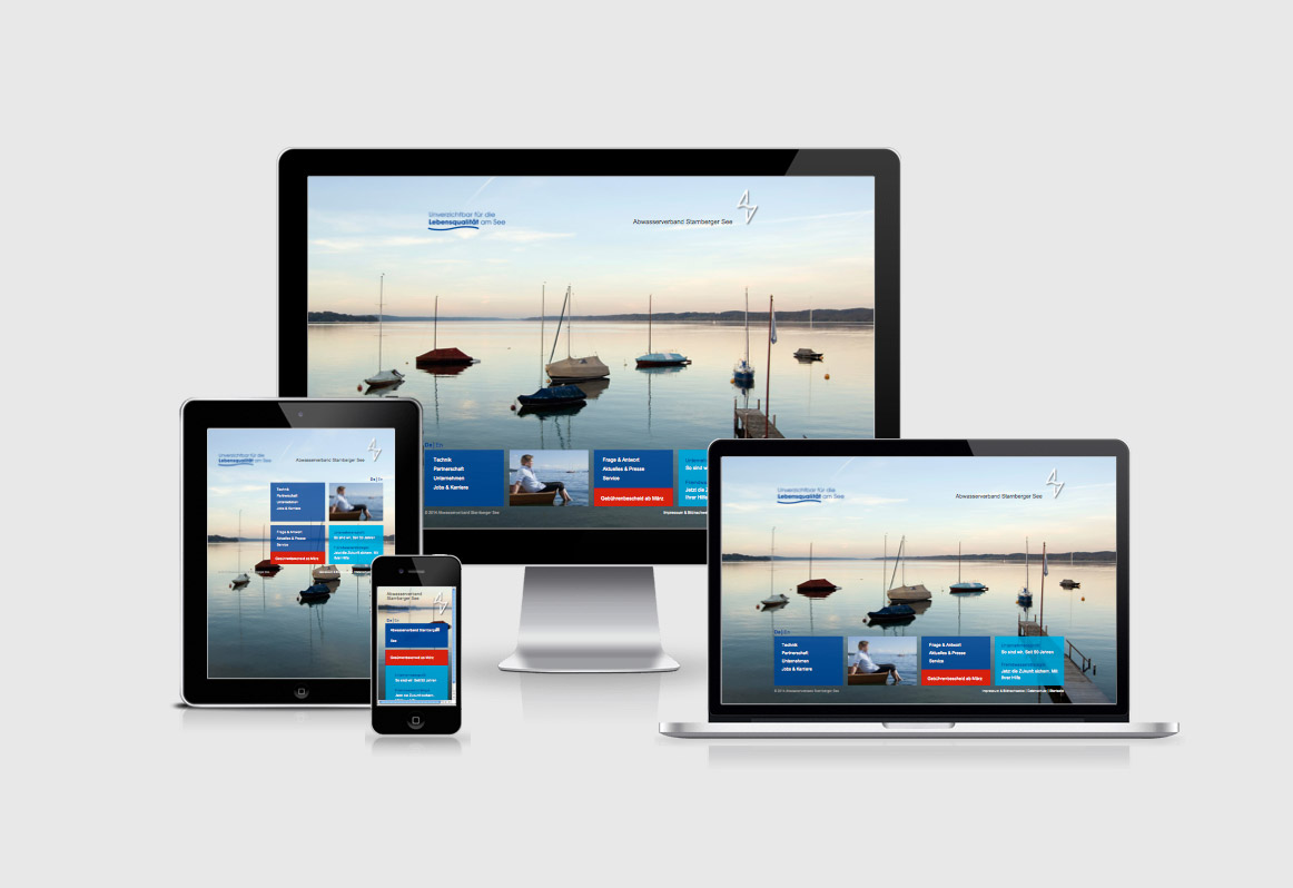 AV-Starnberger See, Responsive Website