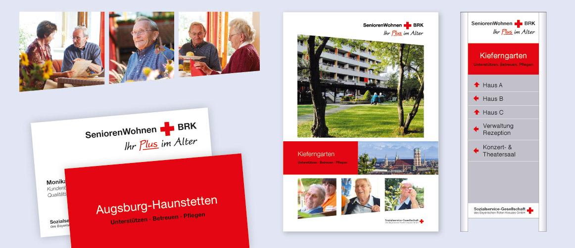 Kommunikationskonzept für das Seniorenwohnen BRK