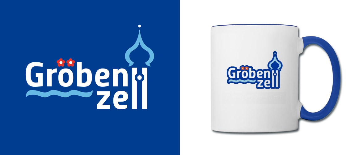Gröbenzell Marketing-Logo mit Shop