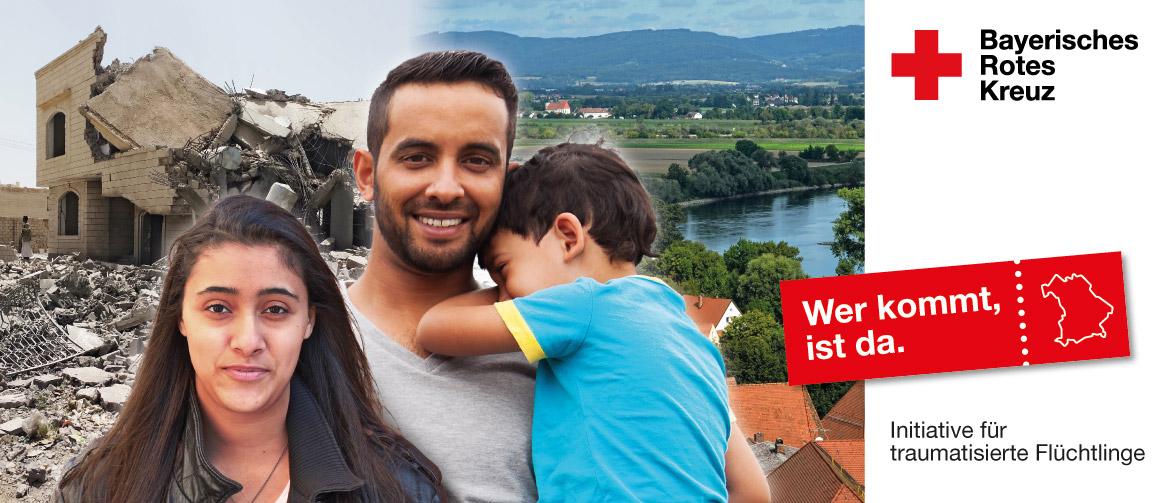 Initiative des BRK für traumarisierte Flüchtlinge