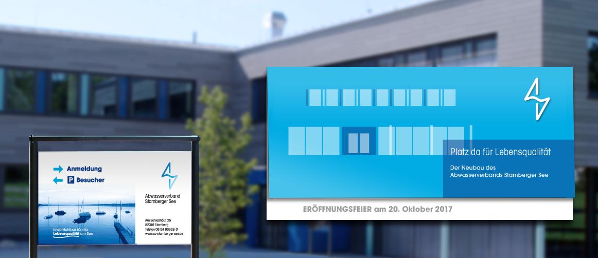 Einweihung des neues Betriebsgebäudes des Abwasserverbands Starnberger See