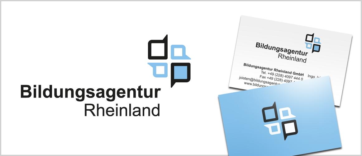 Logo für Bildungsagentur Rheinland