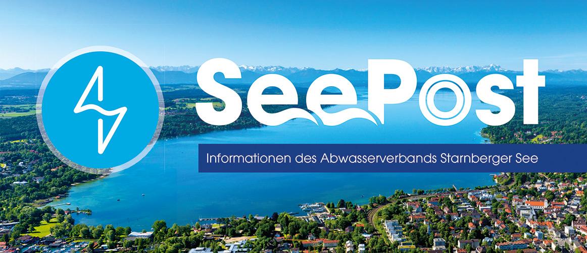 Newsletter Logo SeePost Abwasserverband Starnberger See