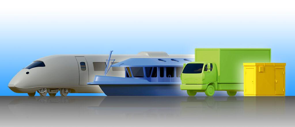 Proton Motor 3D-Illustration 4 Zielgruppen / Anwendungsbereiche